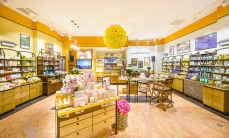 We opened a beautiful L'Occitane store in Palladium in Prague